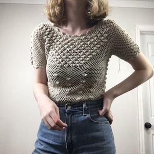 70's Vintage Crochet Top
